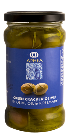 Picture of Green Cracked Olives